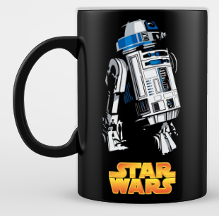 Mug Star War Robot