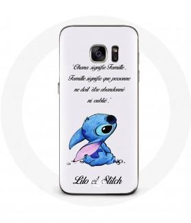 Samsung Galaxy S7 Stitch case