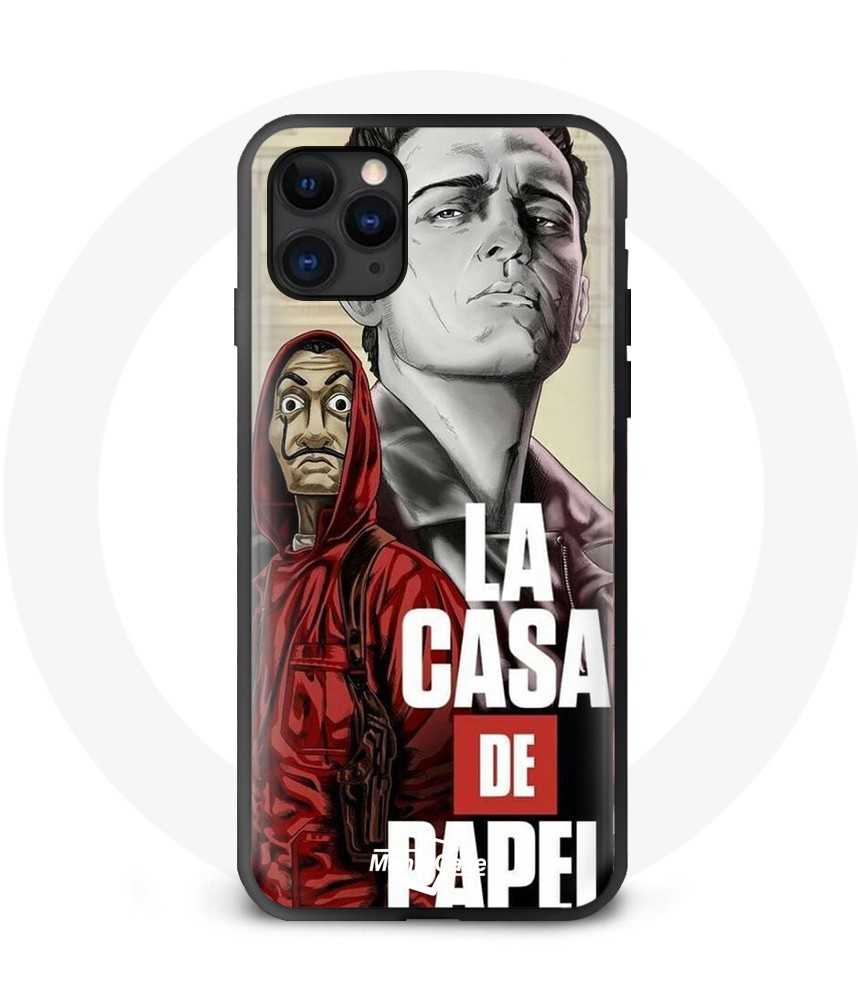 Coque Iphone 11 Pro Max La Casa De Papel berline illustration