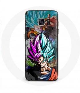 Galaxy S6 Edge case dragon ball goku blue super saiyan