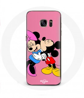 Galaxy S6 Edge case Mickey mouse minnie mouse kiss