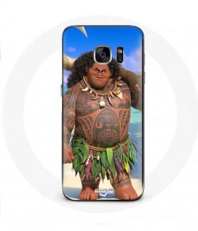 Galaxy S6 Edge case moana Maui hook