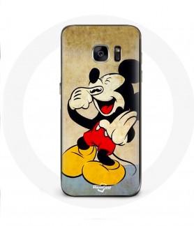 Galaxy S6 Edge case mickey mouse mustache