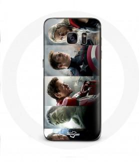 Galaxy S6 Edge avengers hulk iron man case captain america thor