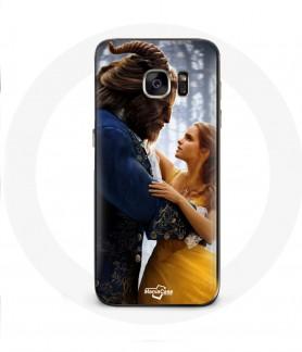 Galaxy S6 Edge case beauty and the beast Disney