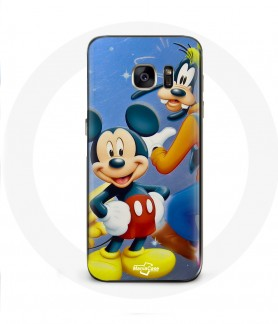 Galaxy S6 Edge case mickey Mouse donald goofy Pluto and minnie mouse