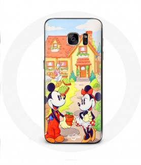 Galaxy S6 Edge case mickey mouse minnie mouse wedding