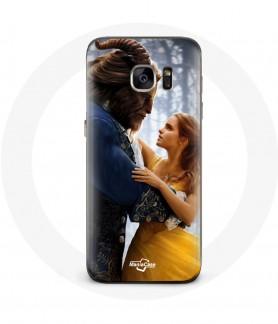 Coque Galaxy S7 la belle et la bête