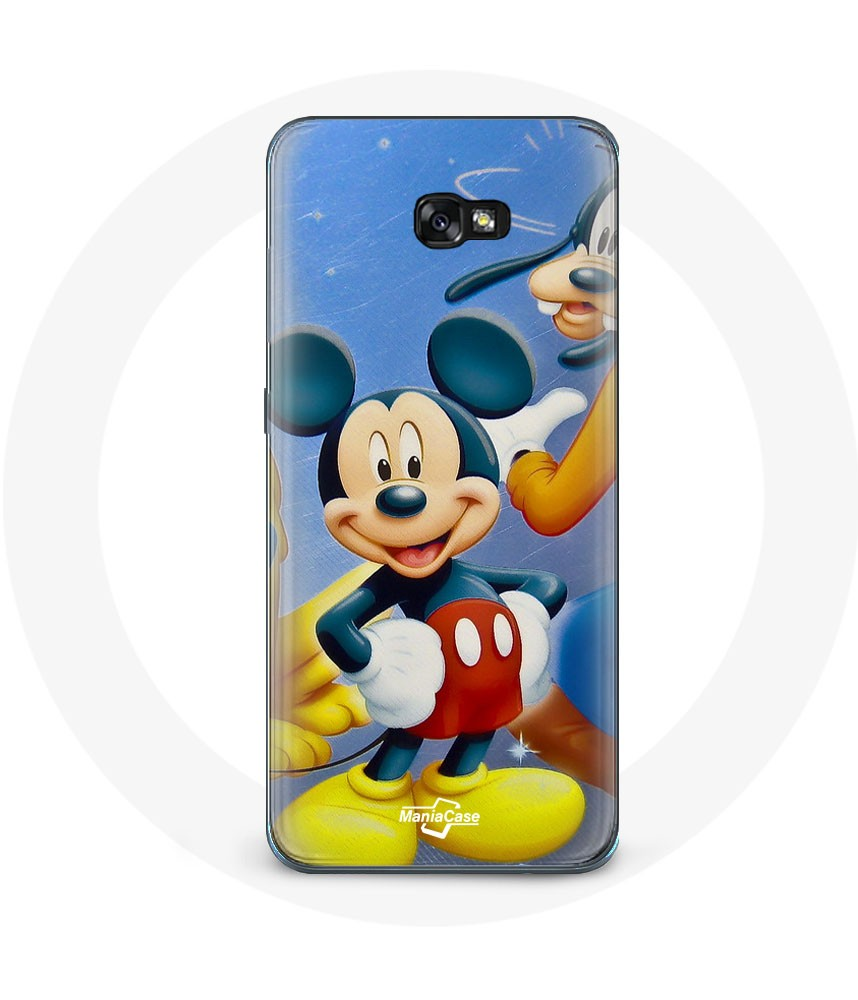 Galaxy A5 2017 case mickey Mouse donald goofy Pluto and minnie maniacase