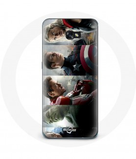 Galaxy A5 2017 case avengers hulk iron-man captain america thor