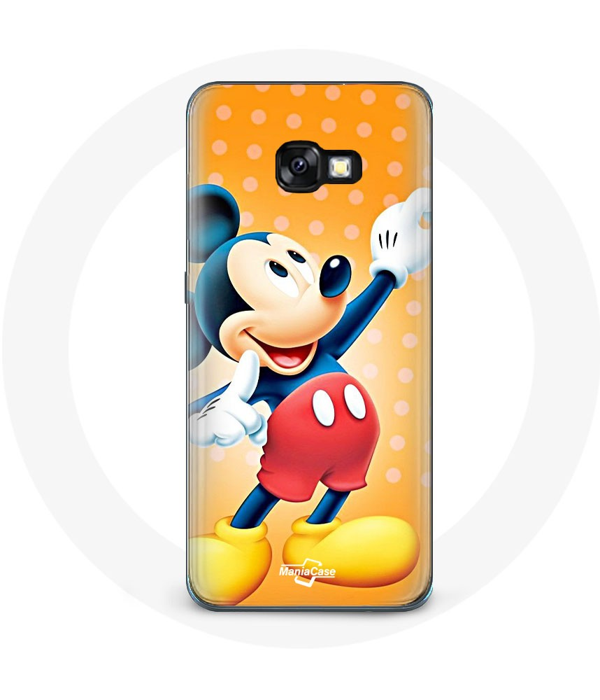 Galaxy A5 2017 cover Mickey mouse and Pluto dog