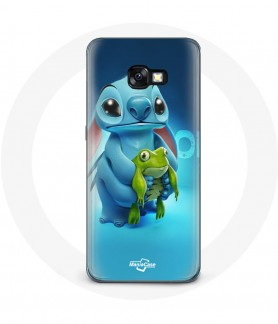 Galaxy A5 2017 case Stitch and The frog cover Maniacase