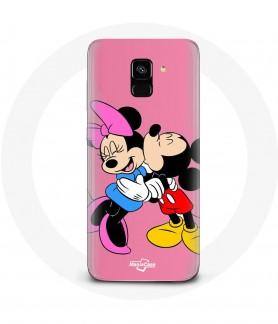 Case Galaxy A8 Mickey mouse...