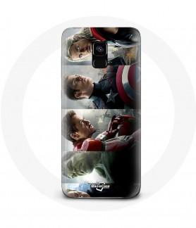Galaxy A8 case avengers...