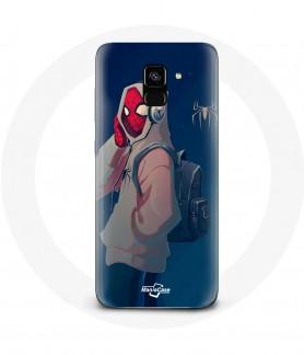 Galaxy A8 case spider man...