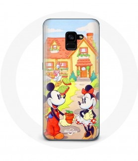 Galaxy A3 2018 case mickey...