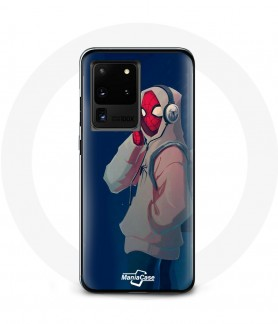 Galaxy S20 case spider man into the spider pour