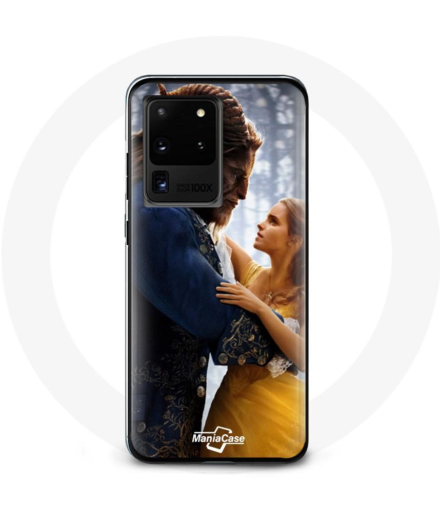 Coque Galaxy S20 la belle et la bête Disney case phone