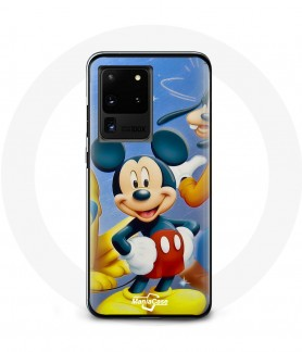 Galaxy S20 case mickey mouse donald goofy Pluto and minnie mouse