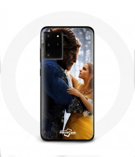 Coque Galaxy S20 plus beauty and the beast Disney