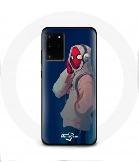 Coque Galaxy S20 plus spider man into the spider verse