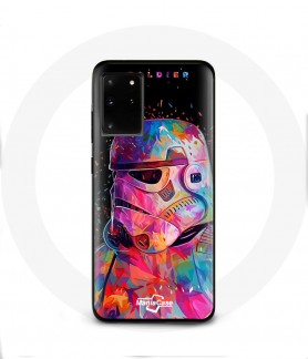 Galaxy S20 plus star wars soldiers case color swag