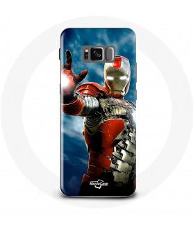Galaxy S8 Case Iron Man