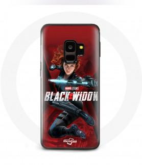 Galaxy S10 black widow case