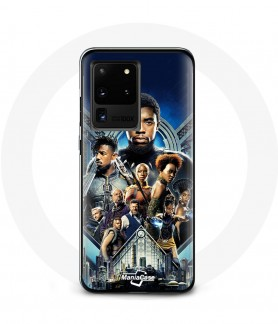 Galaxy S20 black panther case