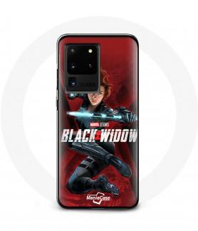 Galaxy S20 black widow case