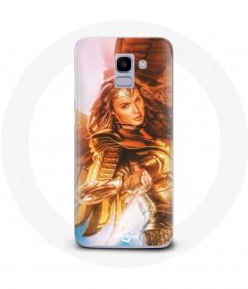 Galaxy J6 wonder woman case