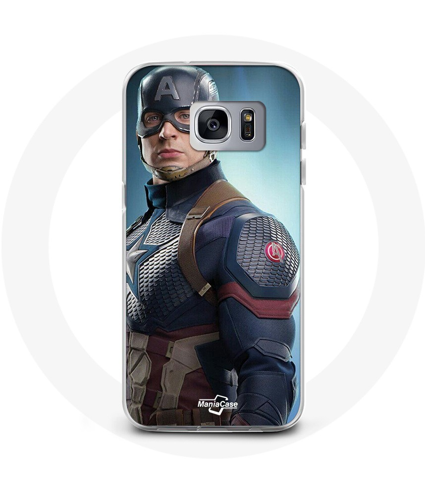 Coque samsung Galaxy S7 captain american