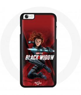 Iphone 6 black widow case