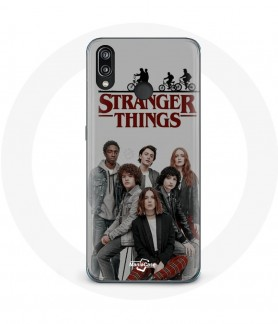 Huawei p20 lite Stranger things logo dark case very good protect