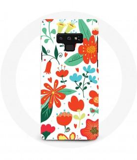 Coque Galaxy Note 9 Fleur...
