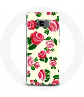 Galaxy S8 Tulip Flower Case