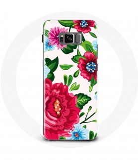 Galaxy S9 Pink Flower Case