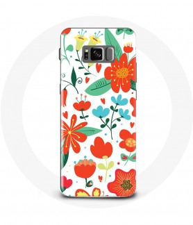 Coque Galaxy S8 Flower