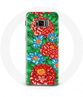 Galaxy S8 Flower Care Case