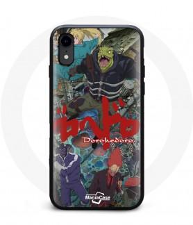 Coque iPhone XR anime Dorohedoro Magic team case