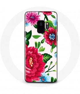 Galaxy S9 Flower case