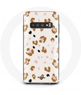 Samsung S10 Case Tiger Texture