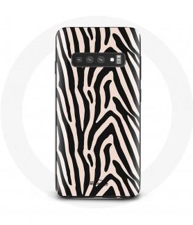 Galaxy S10 Case Zebra texture
