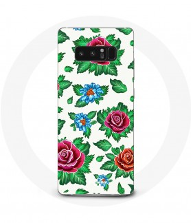 Galaxy Note 8 Pink Flower Case