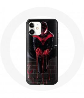 iPhone 12 mini case spider...