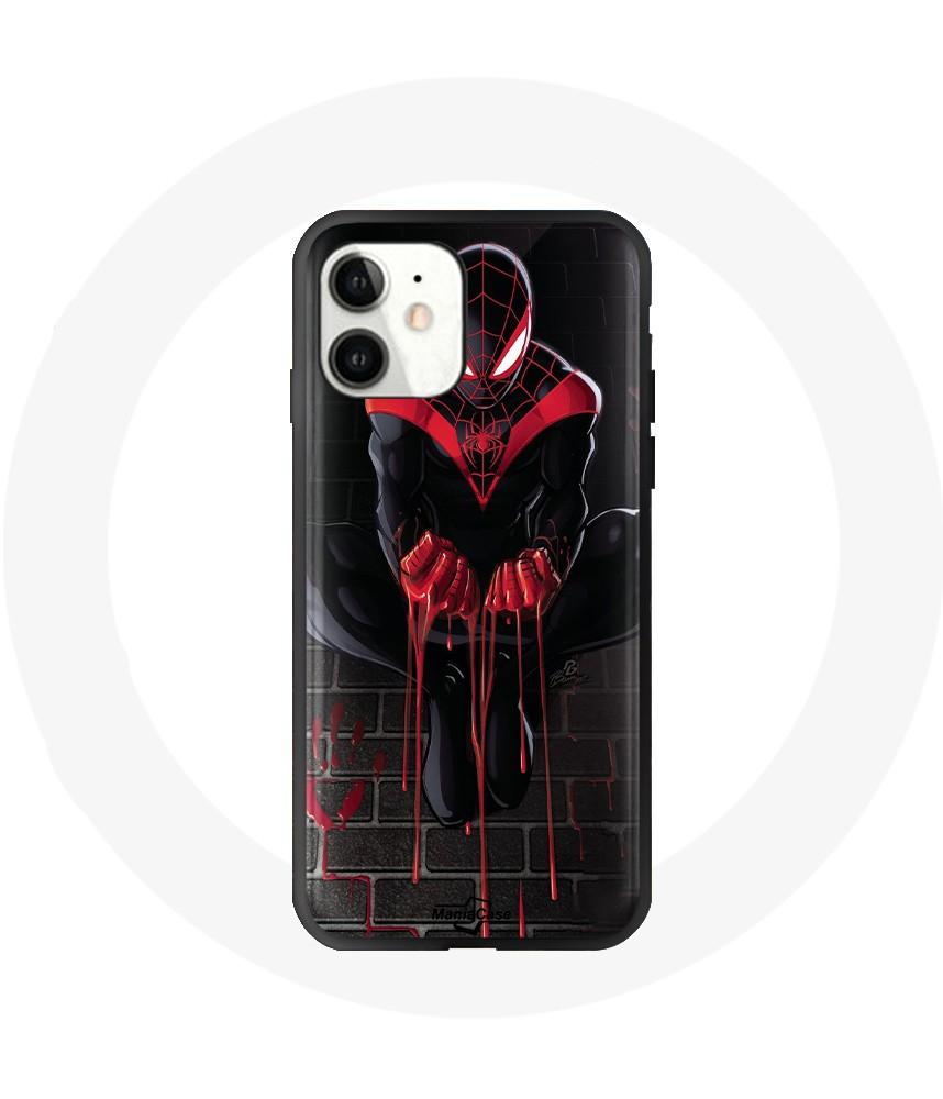 coque iphone 12 mini spiderman