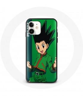 Silicon iPhone 12 mini case anime Hunter X hunter Gon maniacase