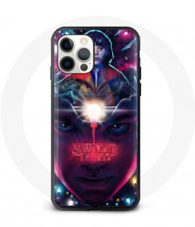 Silicon iPhone 12 pro case stranger things