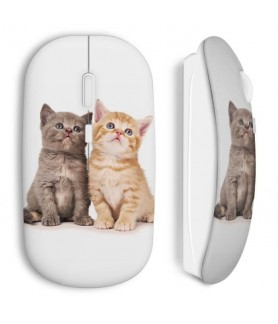 Baby cats wireless mouse