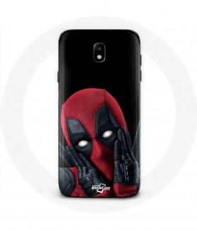Galaxy j7 2017 Deadpool case